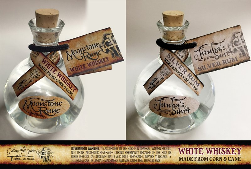 craft distiller packaging design services gallows hill body