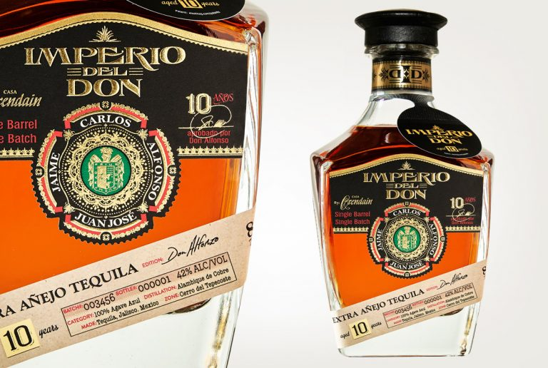 beverage packaging design services imperio del don
