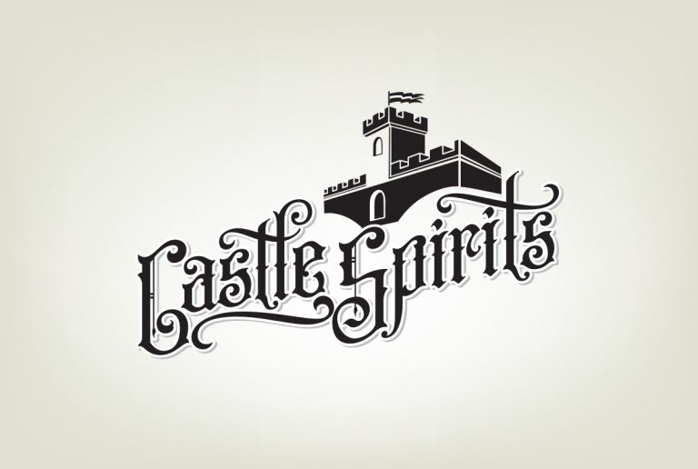 logos brands design services castle spirits