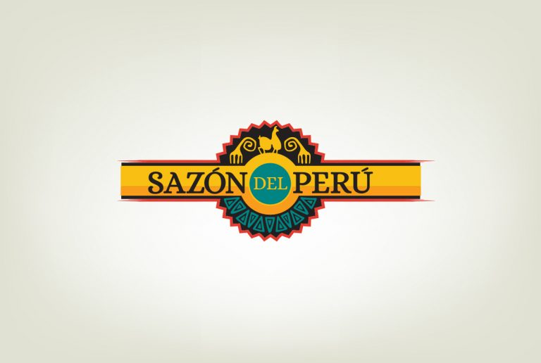 logos brands design services sazon del peru
