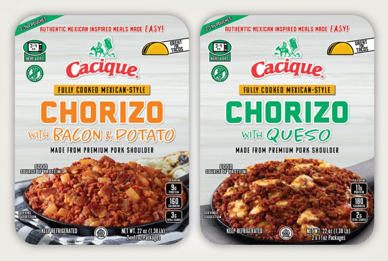 packaging design cacique chorizo