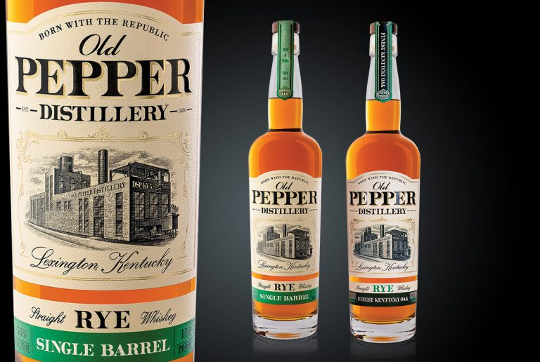 beverage packaging design services old pepper tall